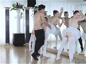 Czech joy soiree gonzo Ballerinas